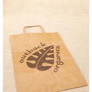 Outback Organics Paper Bag