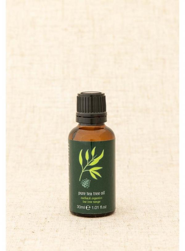 Organic Pure Tea Tree Oil 30ml