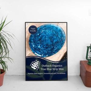 True Blue Poster A3