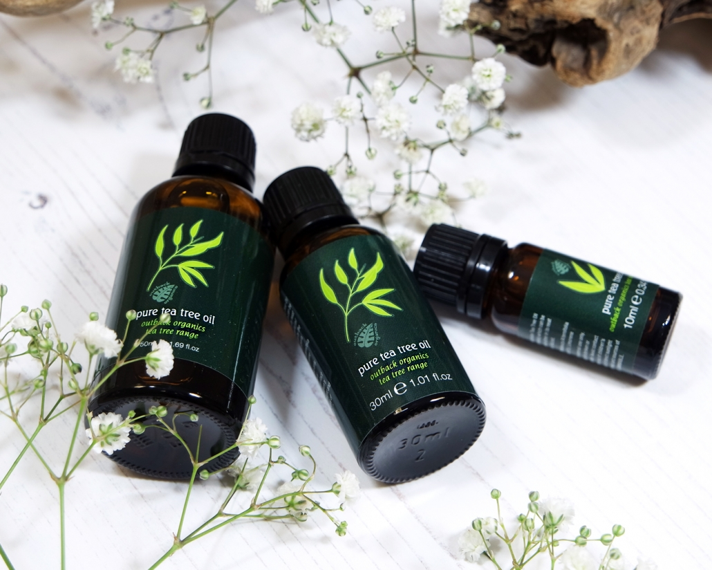 Outback Organics Tea Tree Oils