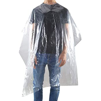 clear disposable gowns