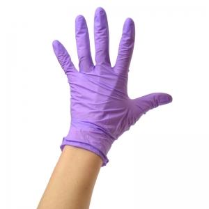 Violet Pearl Nitrile Gloves