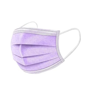 Purple 3-Ply Face Mask