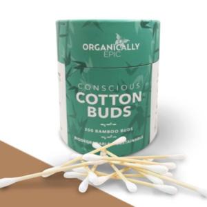 Organically Epic Bamboo Cotton Buds 200pk