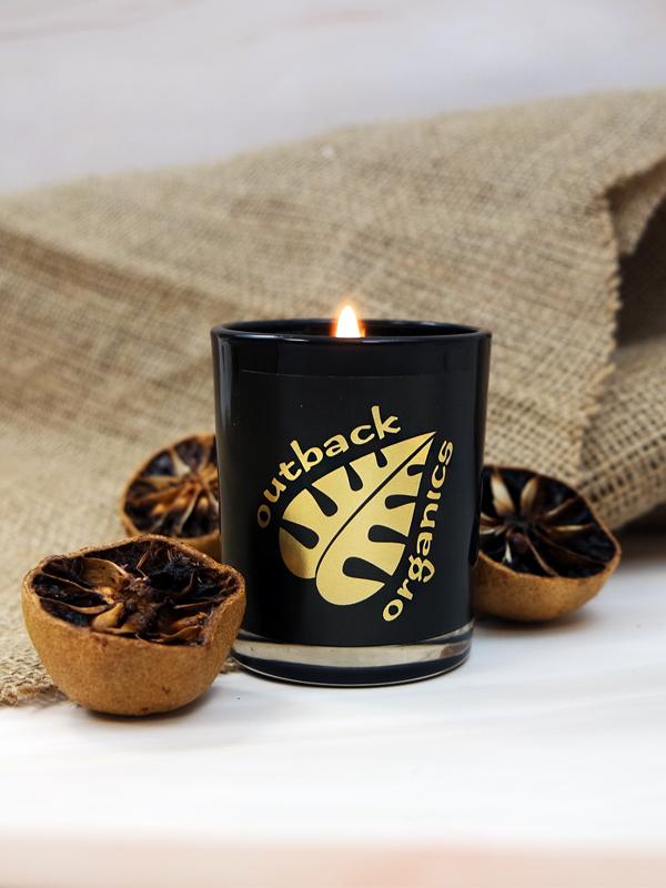 Outback Organics Cinnamon & Orange Candle